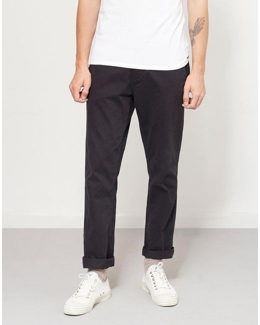 The Idle Man - Straight Leg Chino Black for Men - Lyst