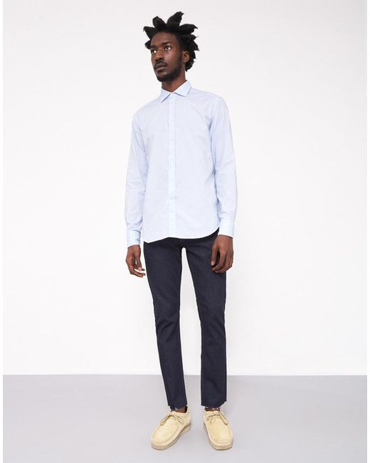 B.D. Baggies | Bradford Cotton Shirt Blue for Men | Lyst