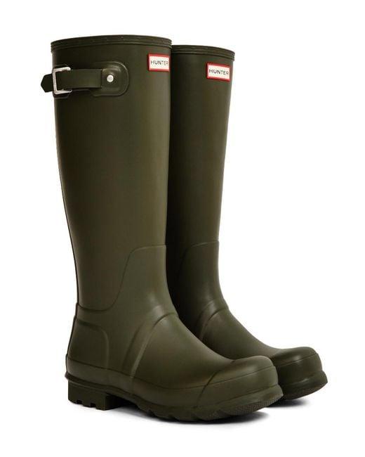 Hunter - Original Tall Rain Boot Green for Men - Lyst