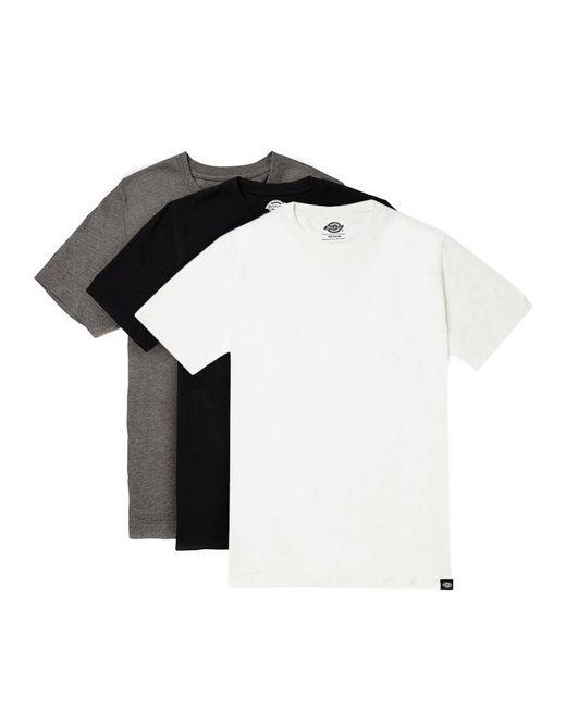 Dickies - White Staple T-shirt 3 Pack for Men - Lyst
