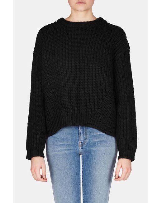 Acne | Black Java Rib Sweater | Lyst