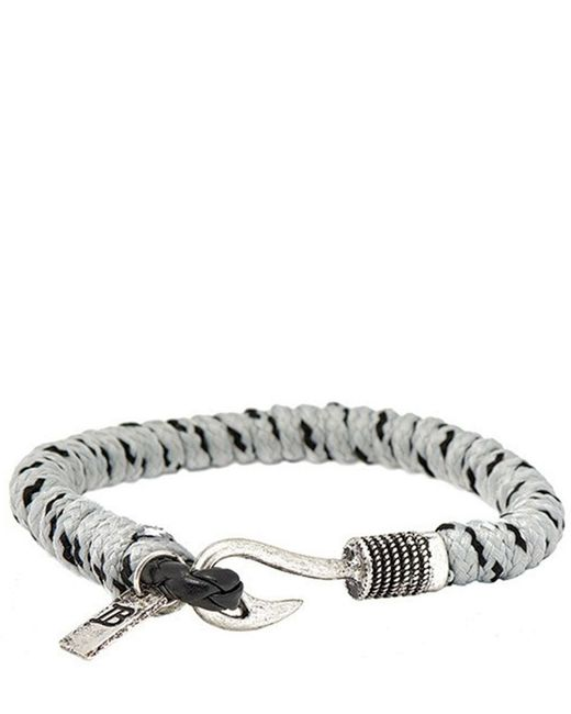 Icon Brand | Gray Bracelet Disclaimer for Men | Lyst