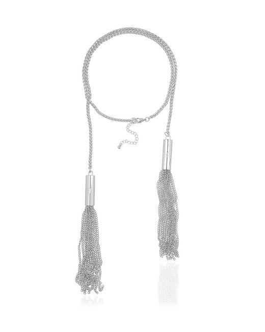 SuperTrash | Metallic Fringe Necklace | Lyst