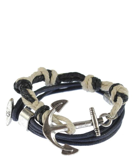 Icon Brand - Blue Bracelet Nautolus for Men - Lyst