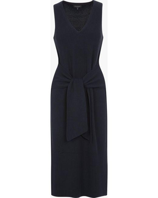Rag & Bone | Blue Michelle Sweater Dress | Lyst