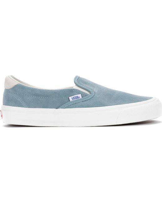 Vans - Blue Og Slip-on 59 Lx for Men - Lyst ... b0c7ce76a