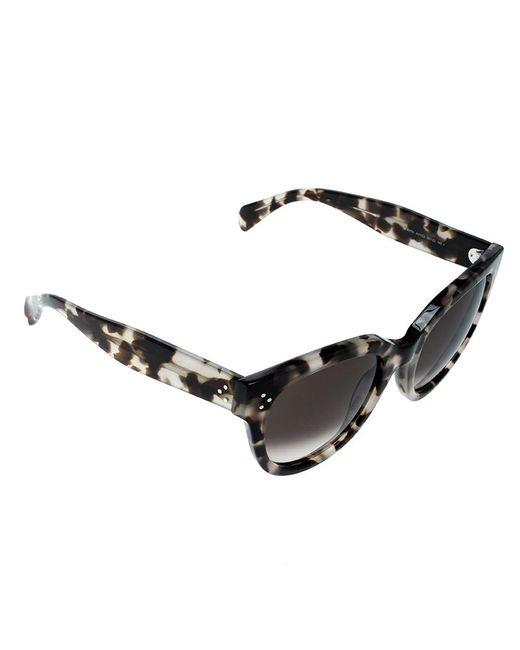 ea86c3ba184 Céline - Spotted Havana brown Gradient Audrey Cl 41755 Avvz3 Wayfarer  Sunglasses - Lyst ...