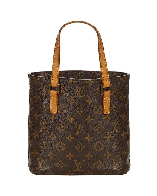 f890a68fb561 Lyst - Louis Vuitton Monogram Canvas Vavin Pm Bag in Brown - Save 17%