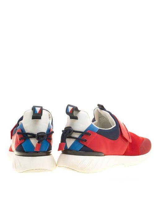 a855fb63445d ... Louis Vuitton - Red Tri Color Neoprene America s Cup Regatta Sneakers  Size 43.5 for Men ...