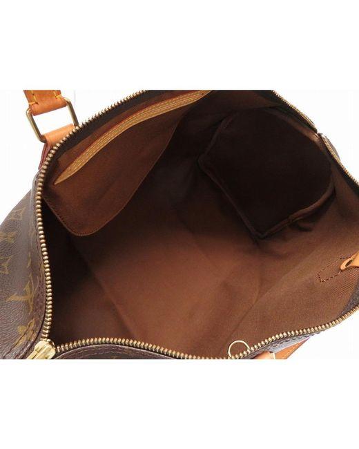 496f612b0f89 ... Louis Vuitton - Brown Monogram Canvas Speedy 40 Bag - Lyst ...