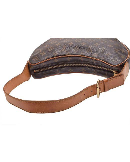6b18717773d1 ... Louis Vuitton - Brown Monogram Canvas Croissant Mm Bag - Lyst ...