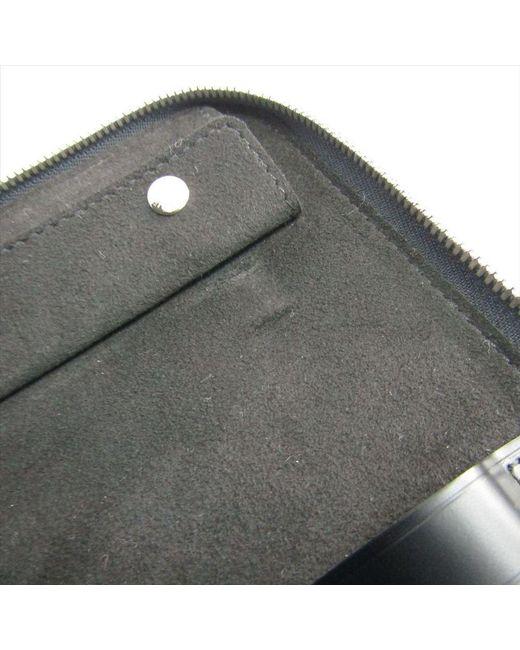 new arrival f624d 53bbc Louis Vuitton Damier Graphite Canvas 5 Tie Case in Black for Men - Lyst