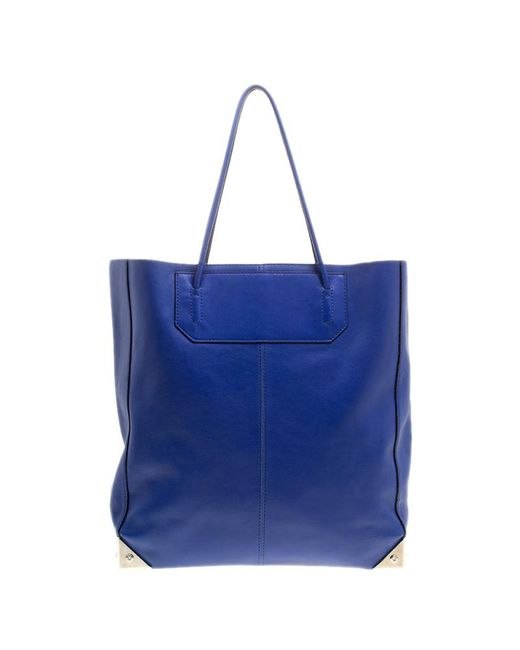 Alexander Wang - Blue Leather Prisma Tote - Lyst