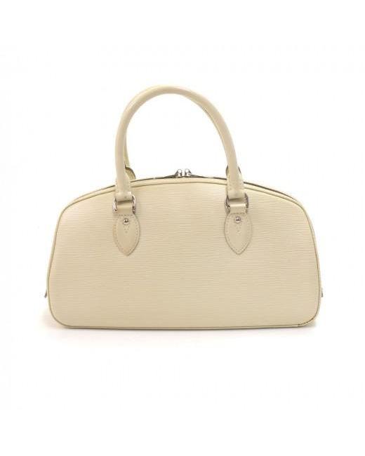 3beea30c7a27 ... Louis Vuitton - White Epi Leather Jasmin Bag - Lyst ...