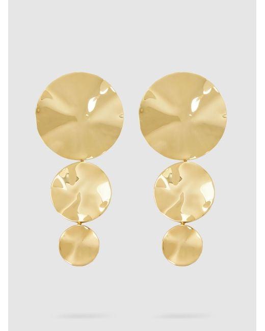 Monica Sordo - Metallic Gold-plated Cao Earrings - Lyst
