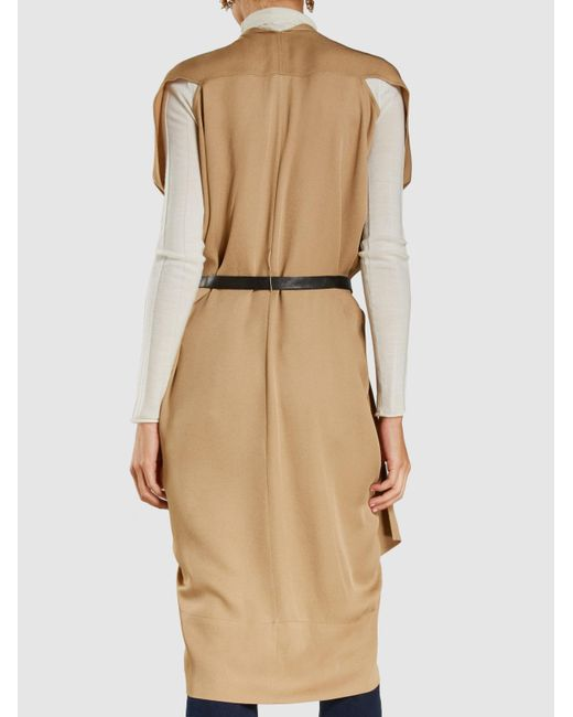 Sleeveless Zip-Front Belted Dress Zero + Maria Cornejo Footaction For Sale 14itakC