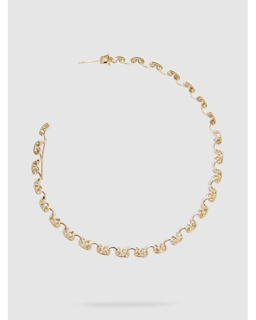 Rosantica Casta Chain Link Gold-Tone Necklace RwCIGt
