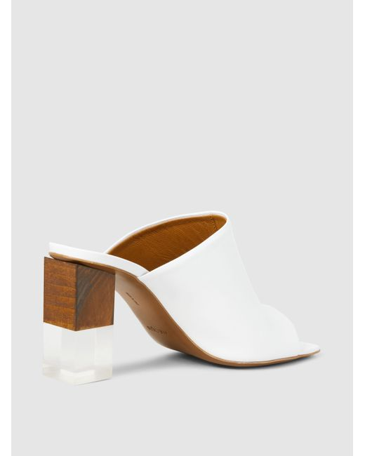 Neous Anguloa Leather Mules ikCQLYs