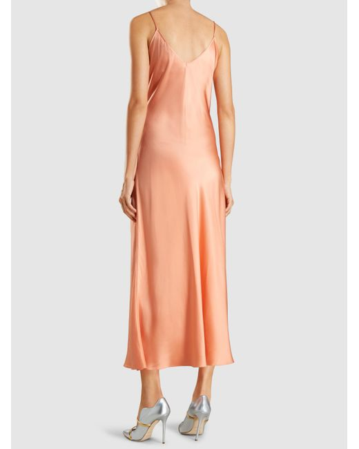 Excellent Cheap Online Geiko Silk-Satin Maxi Dress Racil Sast For Sale D8iQLK