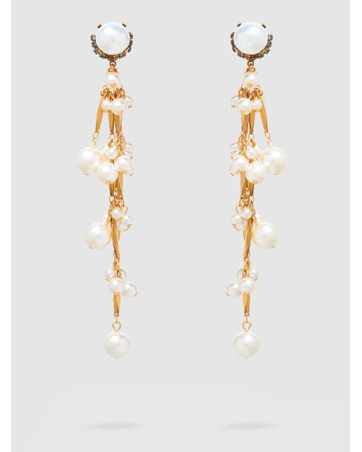 Erickson Beamon - Metallic Pretty Woman Pearl Earrings - Lyst