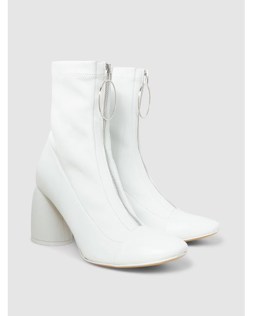 Ellery Stretch-Leather Ankle Boots Vyoc2WDL
