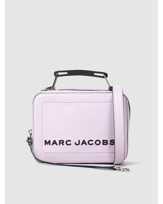 592eab020ff0 Marc Jacobs - Multicolor The Box Leather Shoulder Bag - Lyst ...