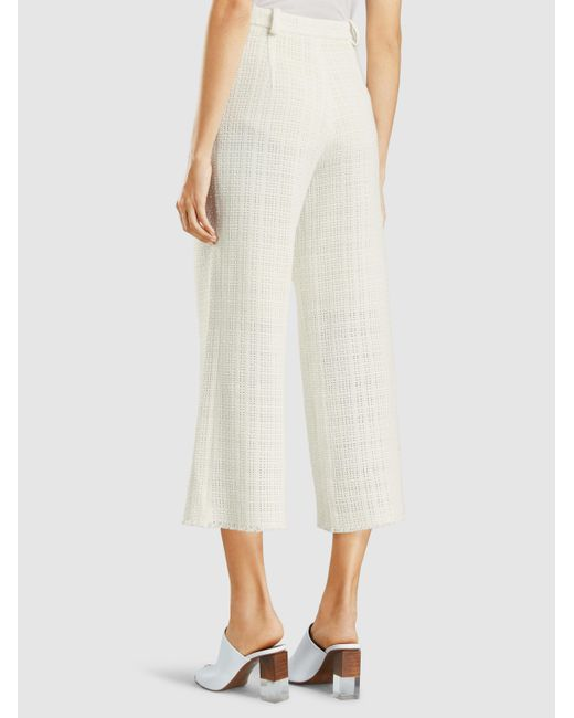 Broadgate Tweed Cropped Trousers Roland Mouret jl9ECI1