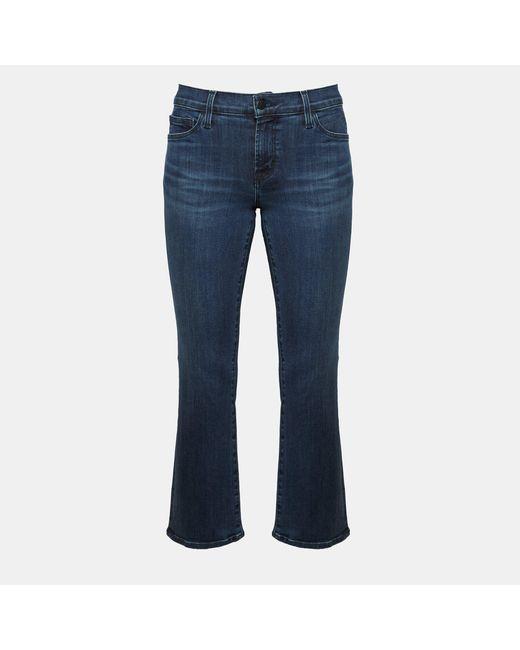 Theory - Blue J Brand Selena Bootcut Crop Jean - Lyst