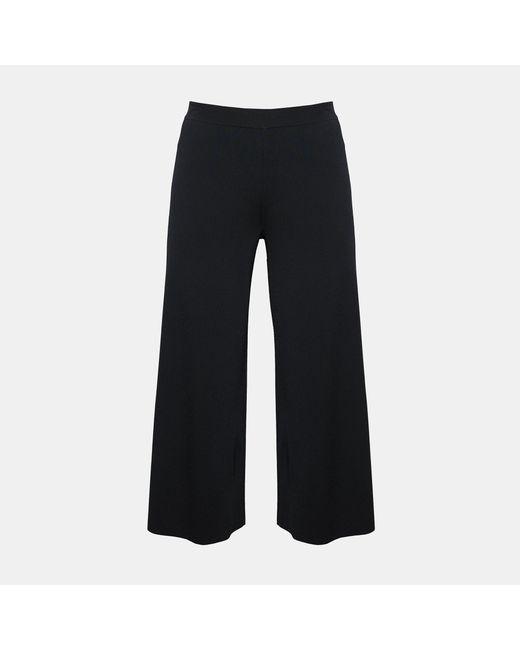 Theory - Black Knit Classic Peplum - Lyst