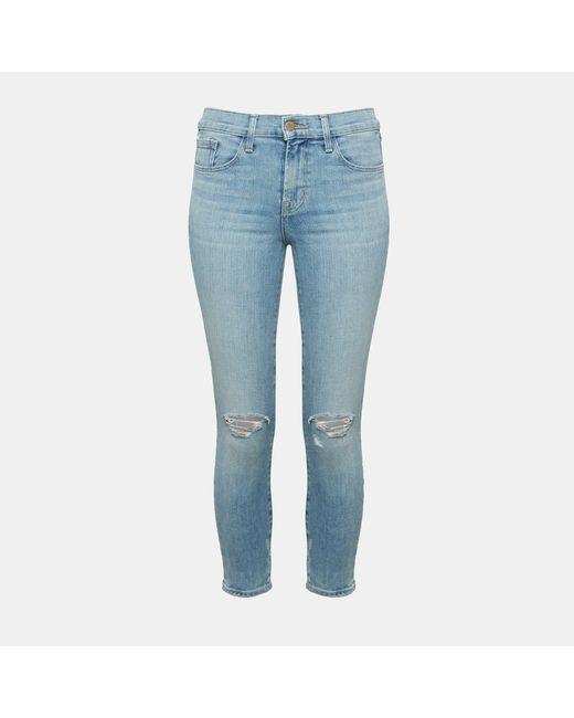 Theory - Blue J Brand Super Skinny Jeans - Lyst