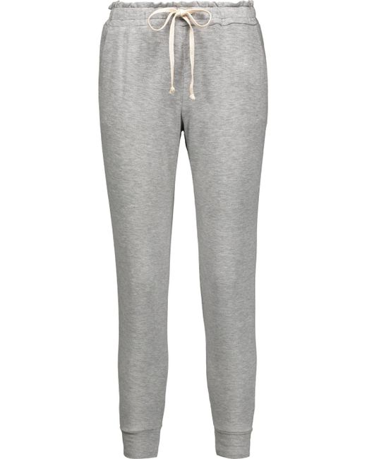 Splendid - Gray Stretch-modal Track Pants - Lyst