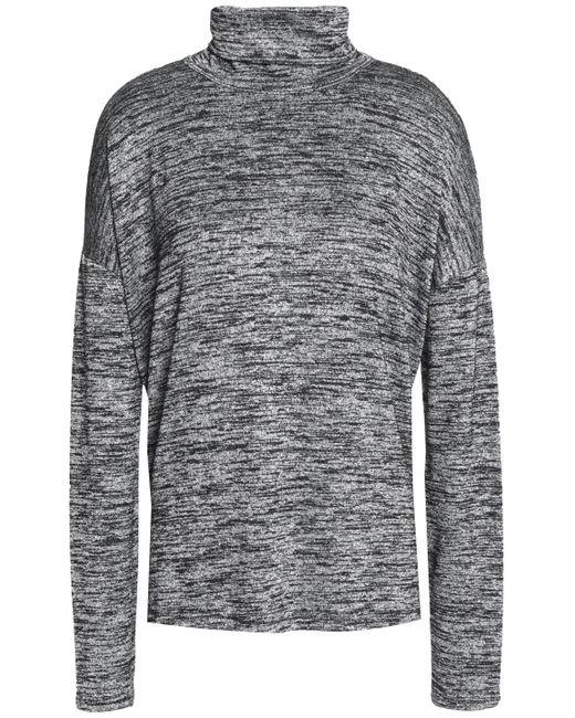 Rag & Bone - Gray Cutout Stretch-knit Turtleneck Sweater - Lyst