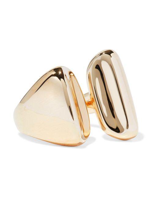 Elizabeth and James - Metallic Gold-tone Ring - Lyst