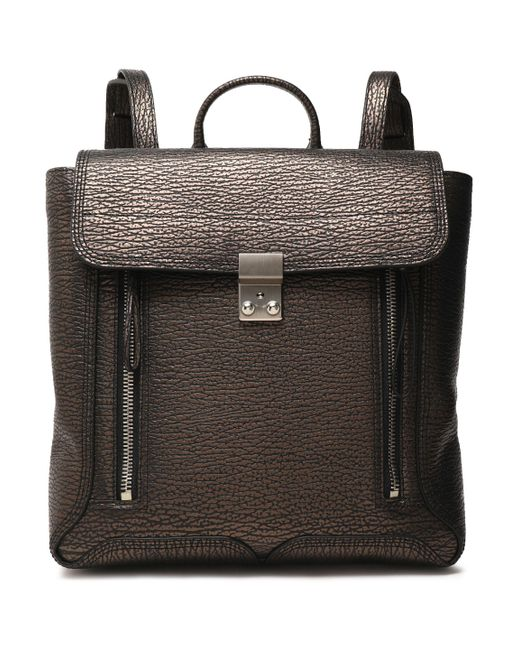 3.1 Phillip Lim - Multicolor Pashli Textured-leather Backpack - Lyst