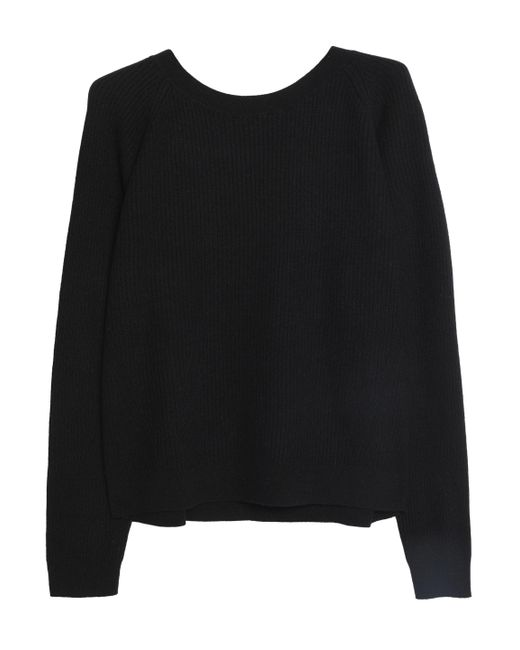 Vince - Black Cashmere Sweater - Lyst