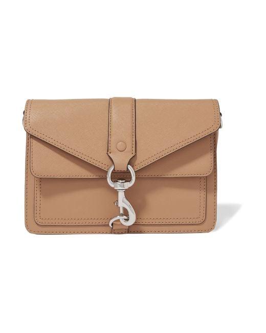 Rebecca minkoff Hudson Mini Leather Shoulder Bag in ...