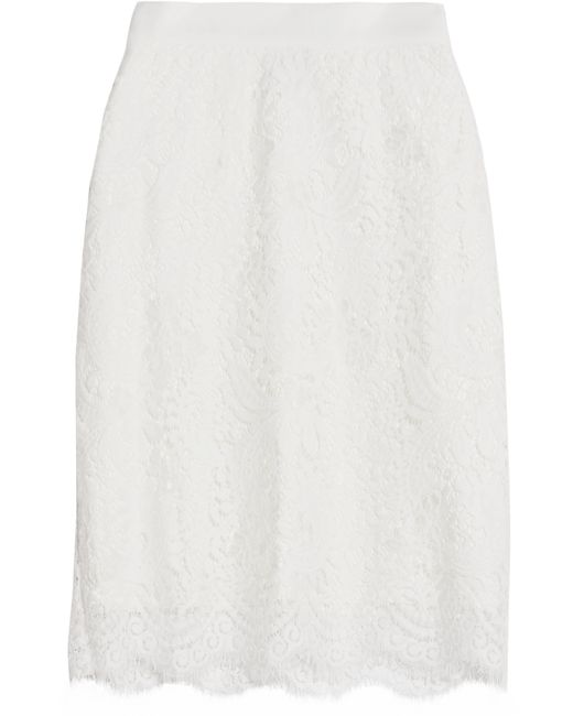 Miguelina | White Scarlett Lace Skirt | Lyst