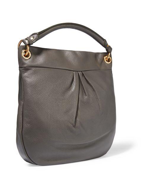 Hillier Hobo Leather Shoulder Bag 9