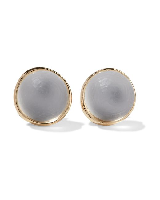 Alexis Bittar | White Gold-tone Lucite Earrings | Lyst