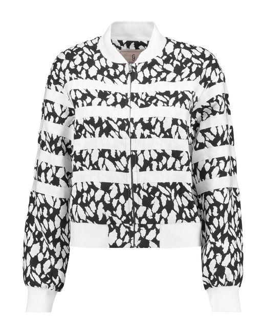 Goen.J | White Emebllished Jacquard And Grosgrain Jacket | Lyst