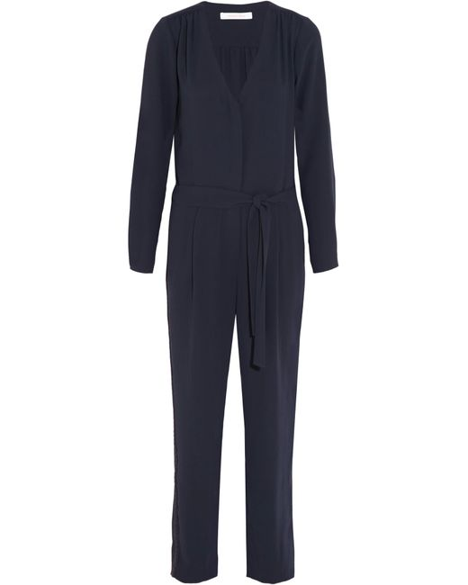 See By Chloé | Blue Crepe Jumpsuit | Lyst