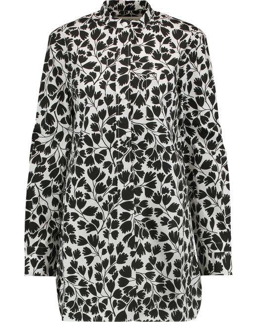 Marni | Black Printed Cotton-poplin Shirt | Lyst