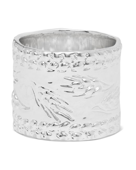 Aurelie Bidermann | Metallic Silver-plated Ring | Lyst