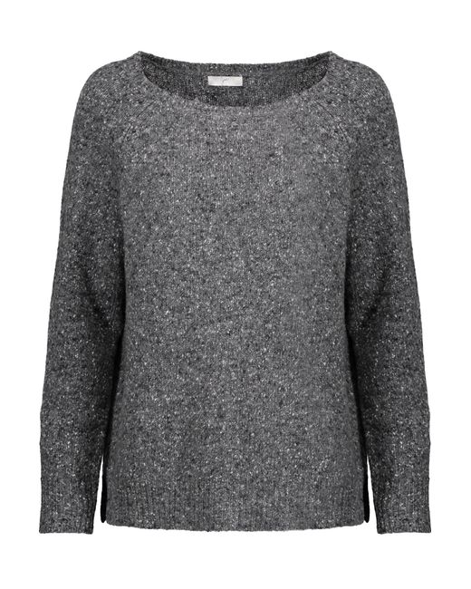 Joie | Gray Emari Wool-blend Sweater | Lyst