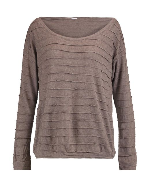 Eberjey | Multicolor Clyde Paneled Textured-knit Top | Lyst