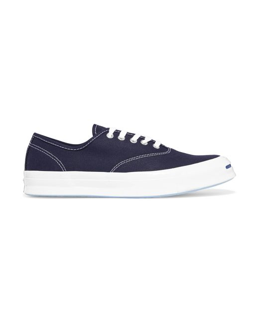 Converse   Blue Jack Purcell Canvas Sneakers   Lyst