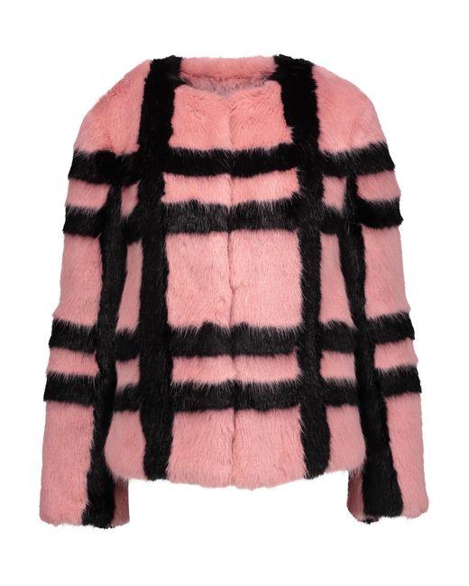 Shrimps | Multicolor Gustav Checked Faux Fur Coat | Lyst
