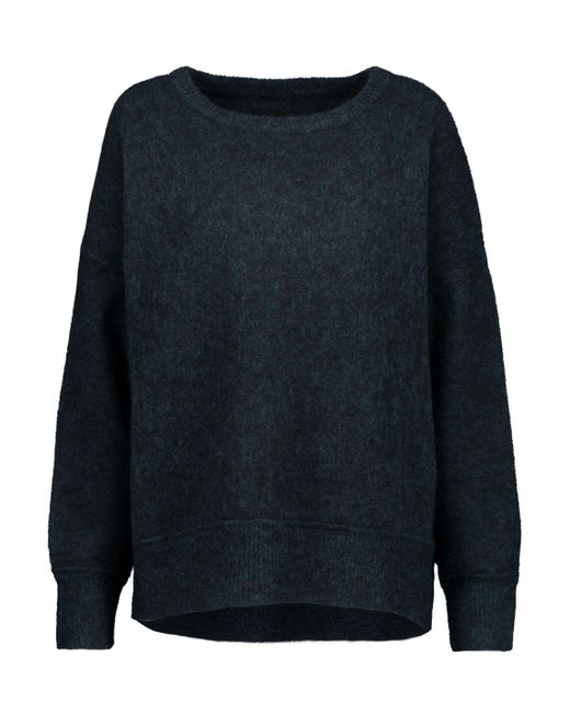 By Malene Birger - Biagio Marled Stretch-knit Sweater Storm Blue - Lyst