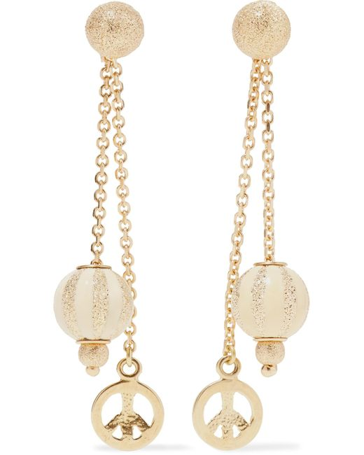 Carolina Bucci | Metallic Carnevale 18-karat Gold And Enamel Earrings | Lyst
