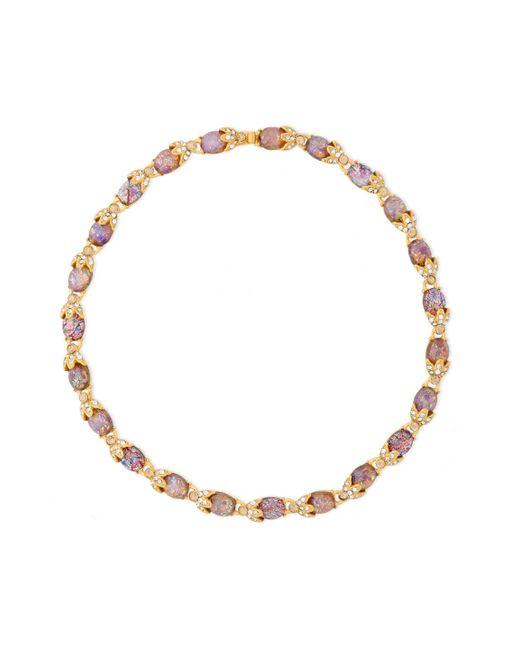 Ben-Amun - Metallic Woman Gold-tone Crystal Necklace Gold - Lyst